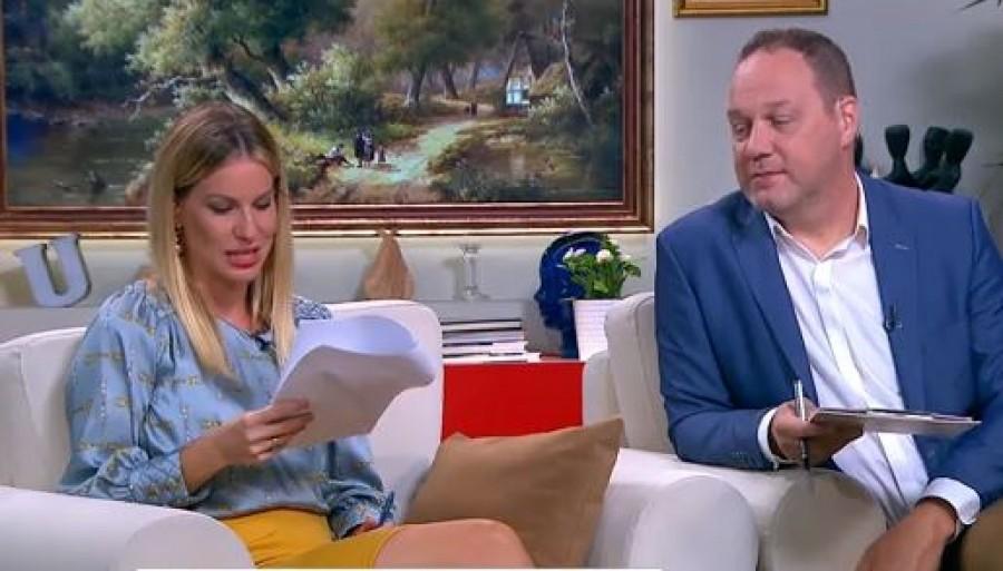 Élő adásban sírta el magát a TV2 műsorvezetője
