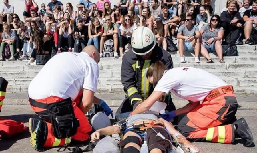 Sokkoló mentős akció - sokan sírva fakadtak a látványtól