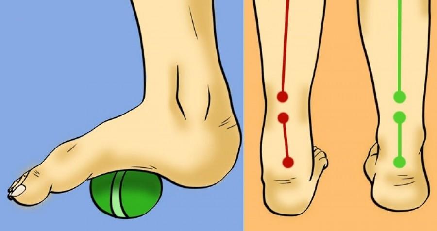 6 egyszerű gyakorlat, amivel enyhítheted a láb-, boka és csípőfájdalmat!