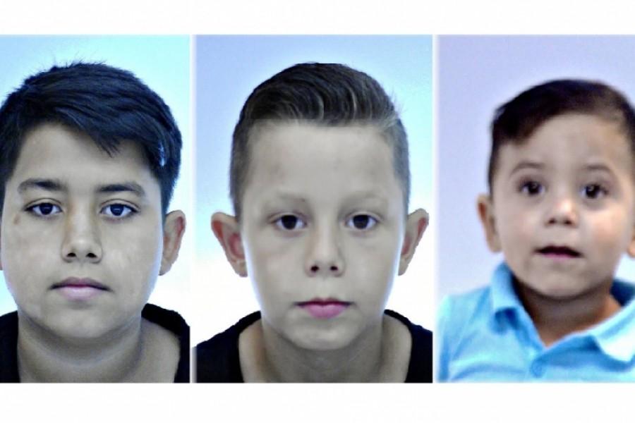 Eltűnt három gyerek - egyikük csak 2 éves!