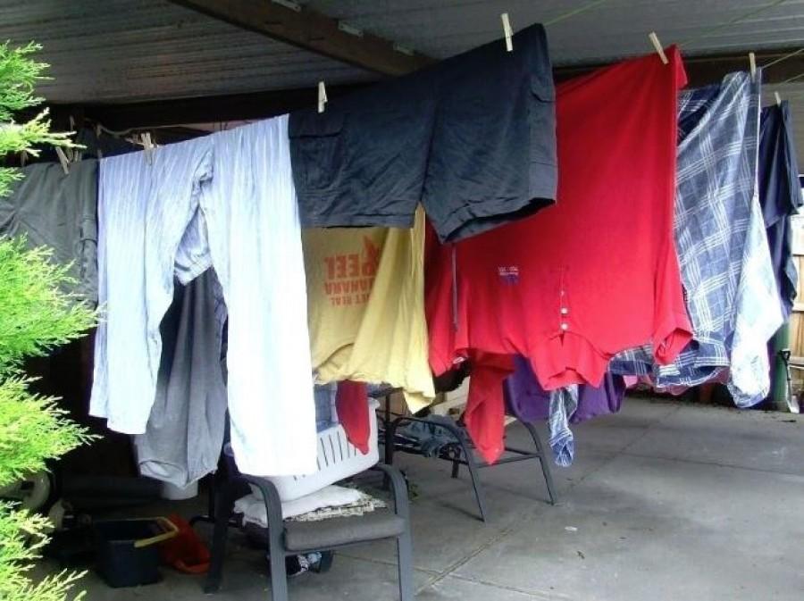 Szárító nélküli ruhaszárítás! A nagymama trükkje!