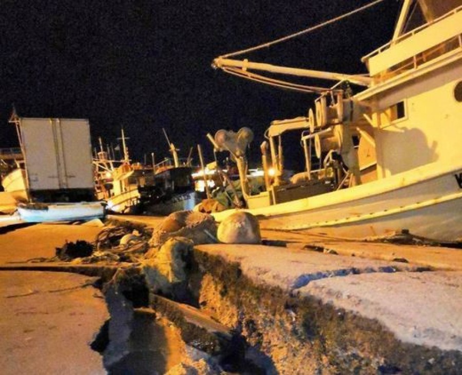 Erős földrengés volt Görögországban