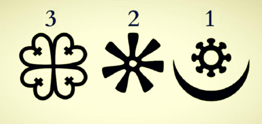 Válassz ki egy afrikai szimbólumot a 3 közül, fontos üzenetet kapsz az Univerzumtól