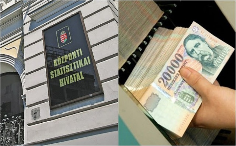 Nevetséges! A KSH legfrissebb adatai szerint ma Magyarországon egy átlag dolgozó 303 ezer forintot visz haza!