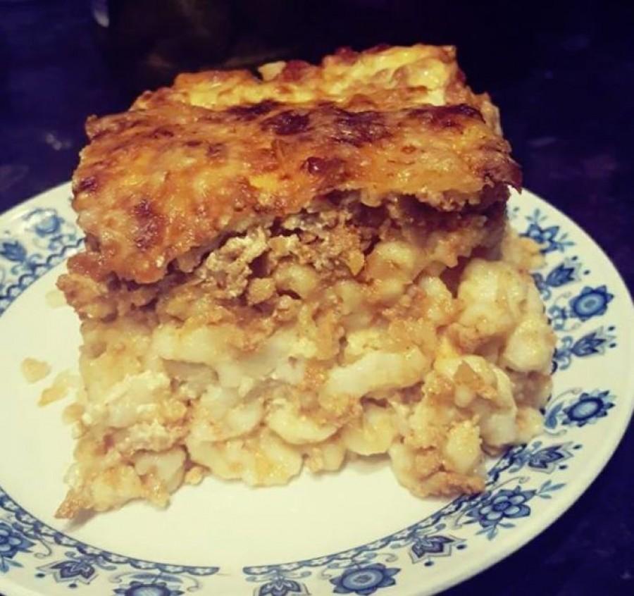 Rakott nokedli sütőben sütve – Nagyon egyszerű étel, mi imádjuk!