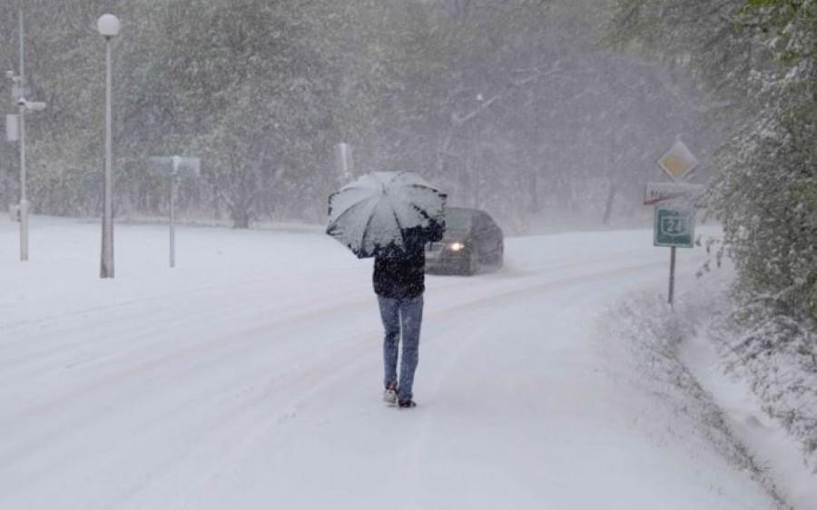 Téliesre fordul az idő, kedden többfelé havazhat