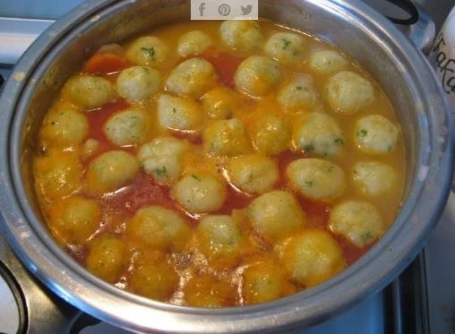 Krumpligombóc leves, ahogy nagyi készítette