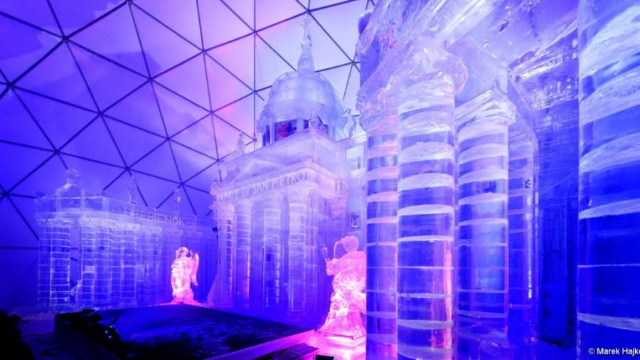 Ez egy csoda! Káprázatos jégtemplom, ráadásul ingyen látogatható