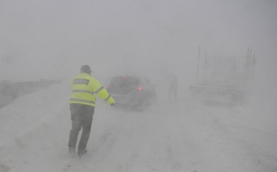 Jelentős mennyiségű hó és hófúvás is jön. Ezekben a megyékben lesz a legtöbb