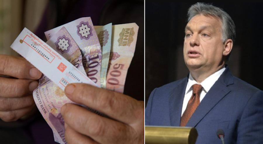 FRISS! Orbán Viktor bejelentése a nyugdíjasoknak!