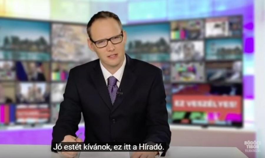 Mészáros az Anna-bál szépe: Bödőcs Tibor MTVA-paródiával búcsúztata az óévet