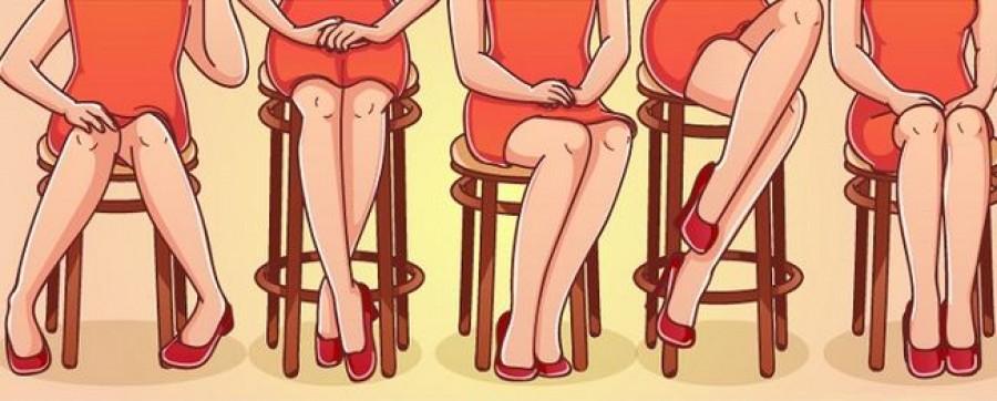 Testbeszéd: Sokat elárul rólad, az ahogyan a széken ülsz