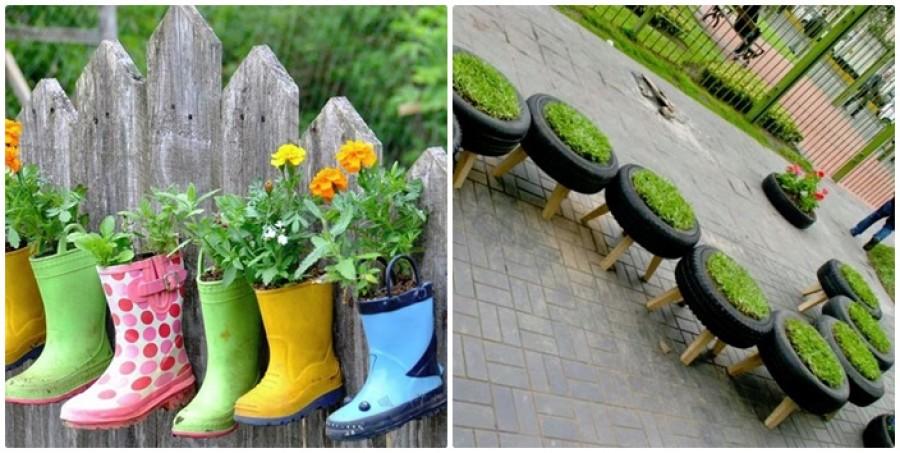 24 tavaszváró tipp - Pár jó ötlet a kerted dekorálásához