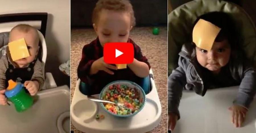 Dobj egy sajtot a baba arcába - ez az új internetes kihívás