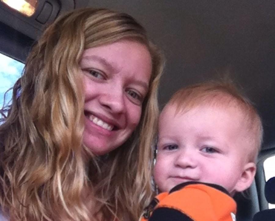 A 21 éves fiatalasszony nem sejtette, hogy ez lesz élete utolsó közös fotója a babájával