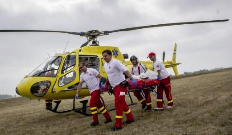 Mentőhelikoptert riasztottak: az apát már nem lehetett megmenteni