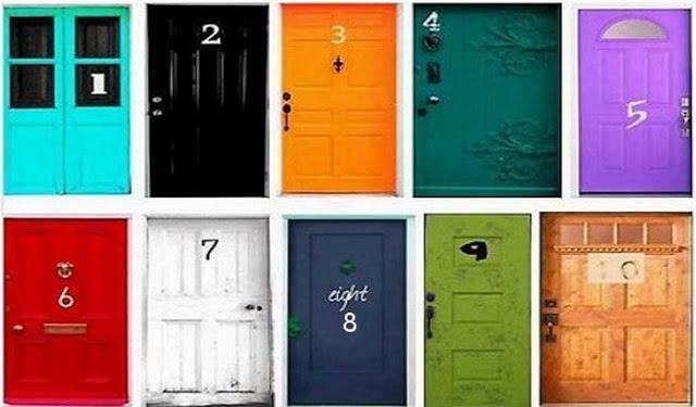 Melyik ajtón mennél be? PSZICHOLÓGIAI TESZT