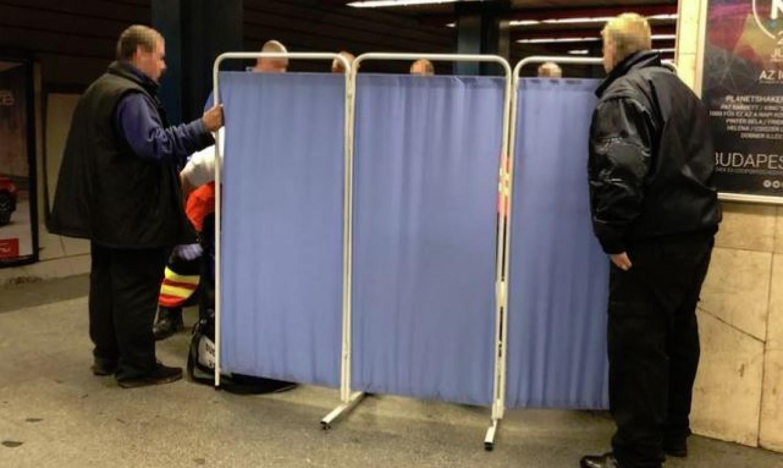 Holttestet találtak a Nyugati pályaudvari metrómegállónál