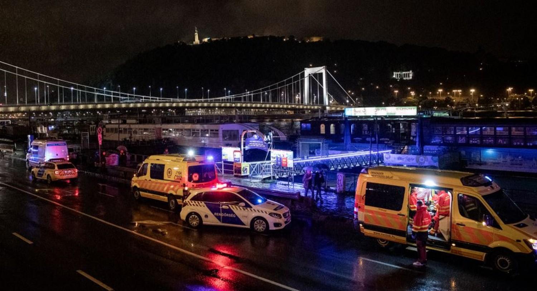 Hét halálos áldozata van a dunai balesetnek - Két hajó összeütközött, majd az egyik felborult és elsüllyedt a Dunán a Parlamentnél