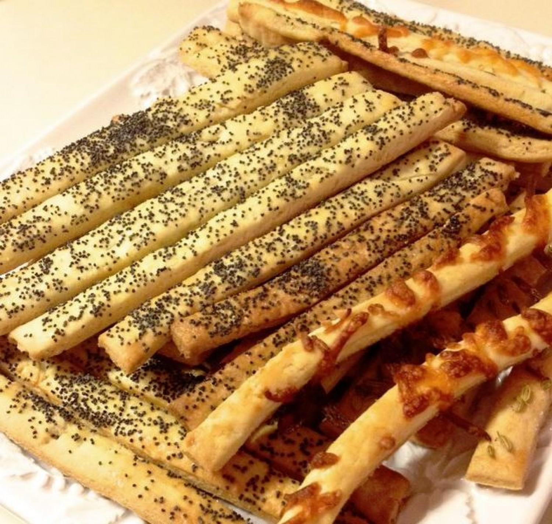 Sajtos és mákos sósrudak - Elronthatatlan recept