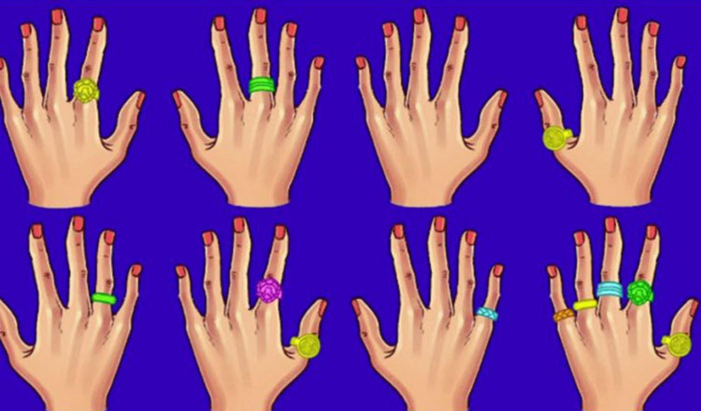 Melyik ujjadon viseled a gyűrűt? Ezt árulja el a személyiségedről!