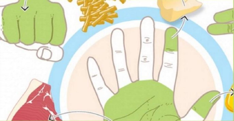 Az ujjaidon magyarázzuk el, mennyit kell enned!