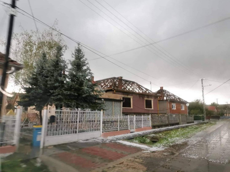 Brutális vihar Borsodban - Fotók