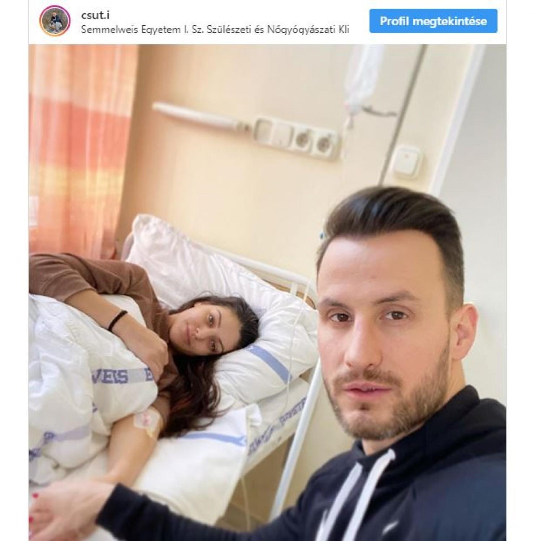 Kórházba került a várandós Kulcsár Edina