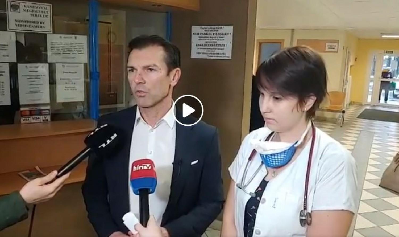 Megszökött egy koronavírusos beteg Budapesten