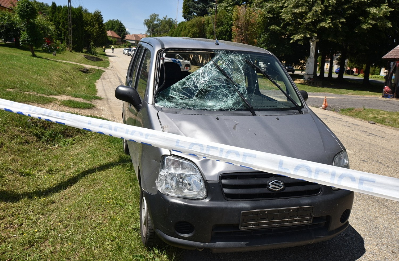 Tragédia Vas megyében: biciklist gázolt egy férfi, aki korábban két gyermekét vesztette el gázolás miatt