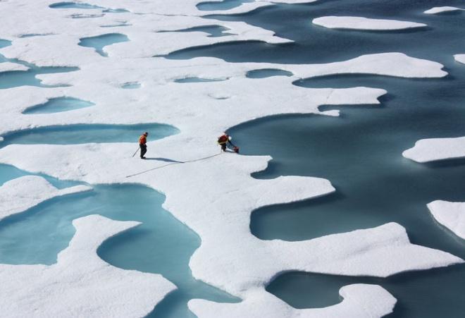 Ijesztő adatok: soha nem volt ilyen meleg az Északi-sarkon!
