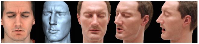 Élethű mesterséges bőr az emberi arc utánzásához