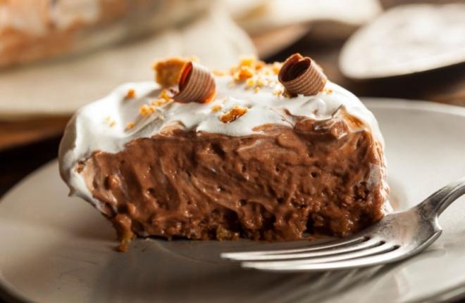 Csokoládés selyem-szelet - ÚJDONSÁG!