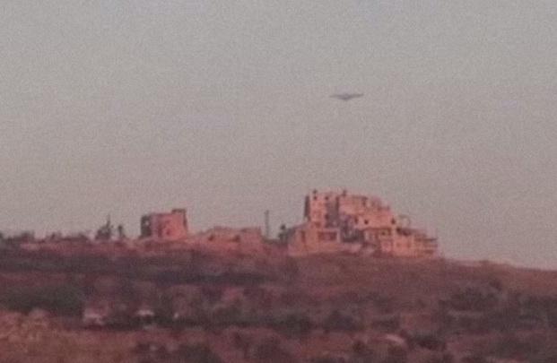 UFO semmisítette meg az ISZLÁM ÁLLAM egyik Szíriai bázisát?