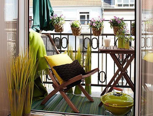 A tenyérnyi erkély is lehet a nyugalom szigete! Less el pár jó ötletet!