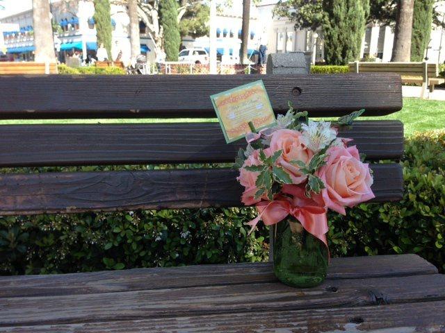 Ha találsz egy virágcsokrot, ingyen elviheted!