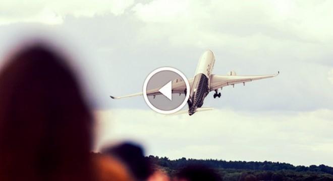 Sikerült majdnem teljesen függőlegesen felszállni az Airbus egyik utasszállítójával