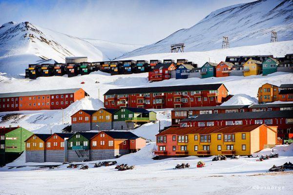 Egy norvég sziget, ahol tilos meghalni