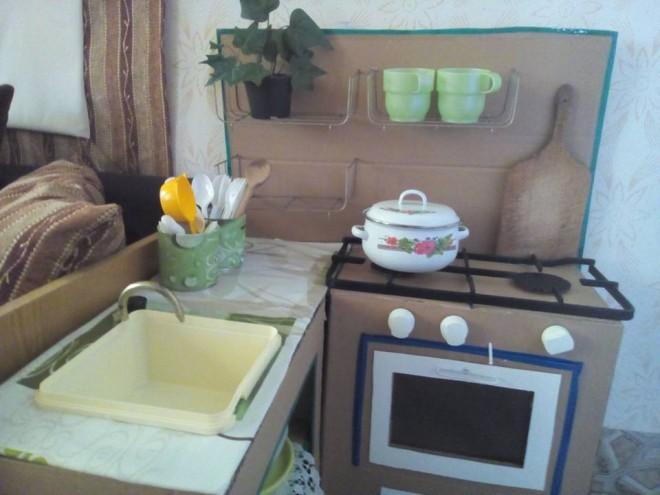 Zsuzsanna kislánya konyhát szeretett volna, meg is kapta a kreatív anyukától!