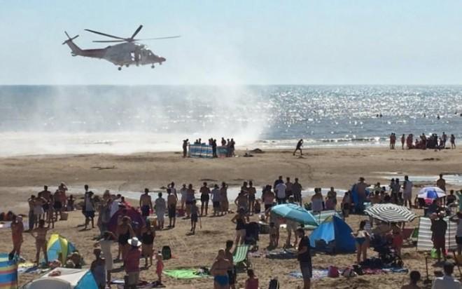 Holttestek a népszerű strandon! PÁNIK ANGLIA PARTJAINÁL