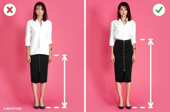 Így öltözz, ha magasabbnak szeretnél látszani!