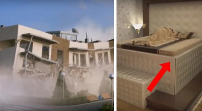 Van földrengésbiztos ágy! Ha rád omlik az épület, akkor sem esik bajod! (+ videó)
