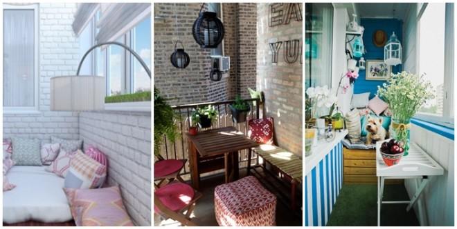 15 remek ötlet - Alakítsd a kis balkonodat praktikussá és stílusossá