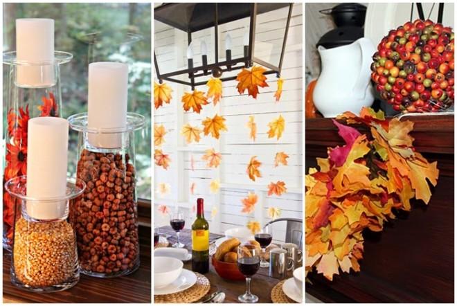 Varázslatos őszi dekorációk - BÁRMELYIKET ELKÉSZÍTHETED TE IS!