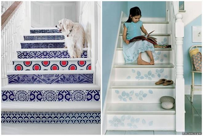Az unalmas lépcsőfokok kora már a múlté! Legyen minél színesebb!