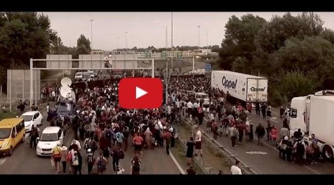Így foglalják el Európát a bevándorlással - VIDEÓ!
