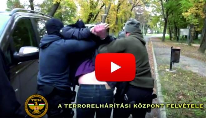 Elfogták a Teréz körúti robbantót! ITT A VIDEÓ IS RÓLA!