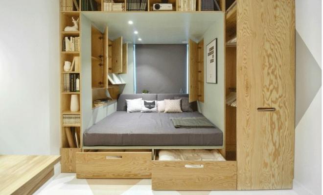 Kicsi a hálószobád? Sebaj! Nyerj teret az ágyaddal! ÖTLETEK a jó térkihasználásra.