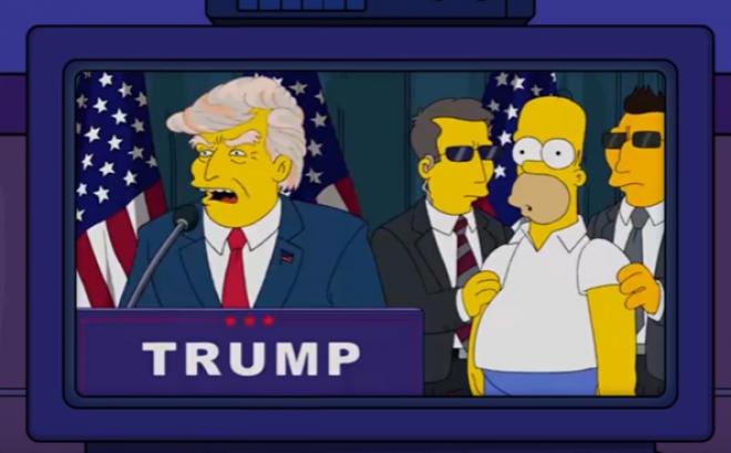 Bart Simpson már 2000-ben megmondta! A jövőbe látott, és megjósolta Trump elnökségét! HIHETETLEN!