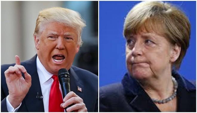 Az új amerikai elnök keményen beszólt Merkeléknek: KAPJÁTOK ÖSSZE MAGATOKAT!